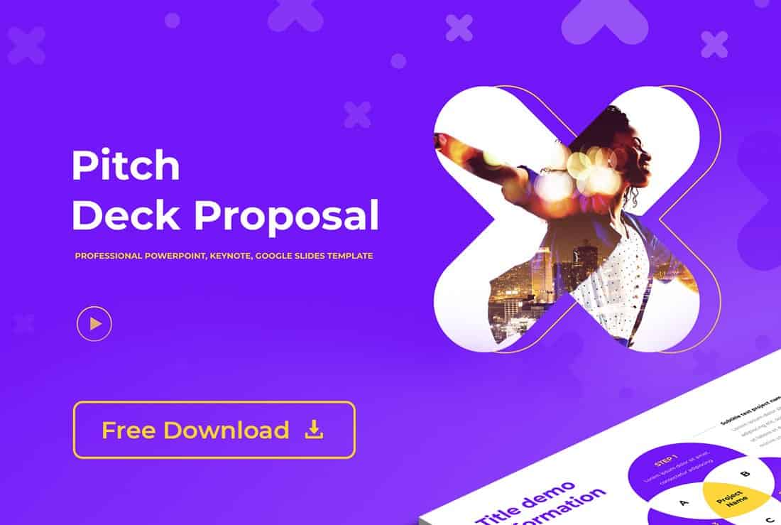 Free Startup Pitch PowerPoint Template