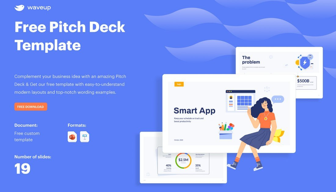 Free Startup Pitchdeck PowerPoint Template