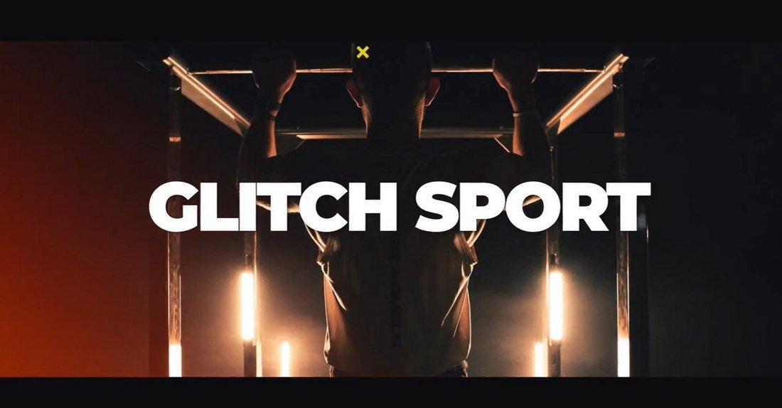 Glitch Sport - Free Final Cut Pro Transitions