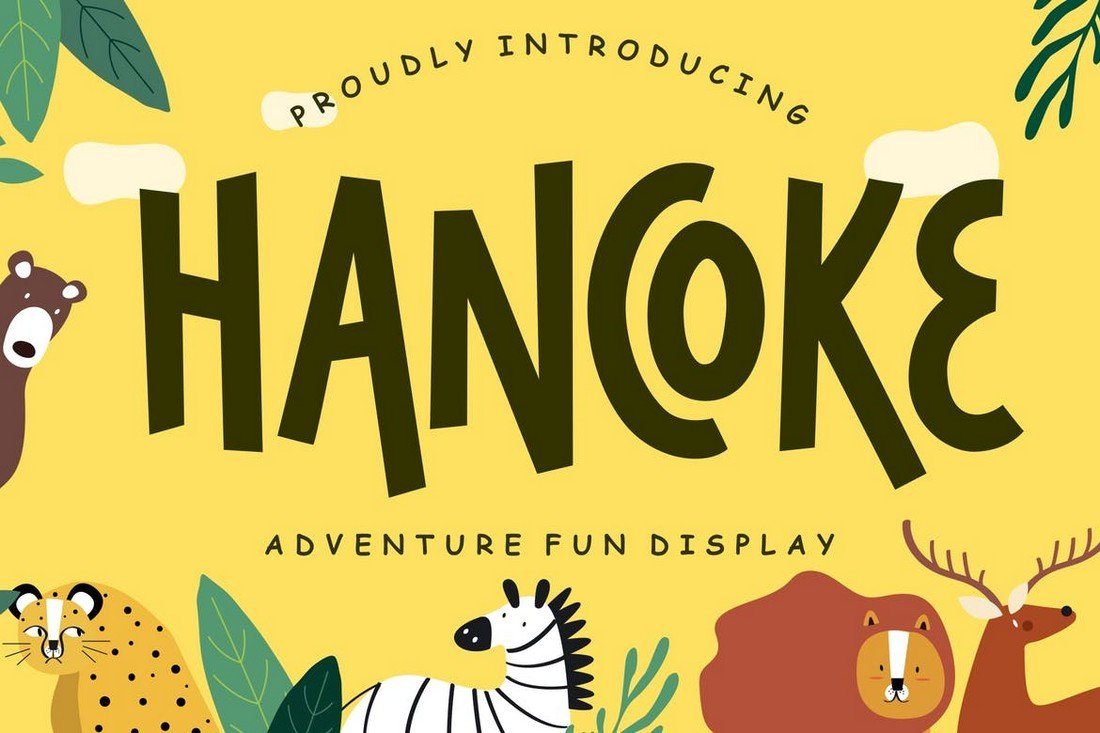Hancoke - Fun Adventure Cartoon Font