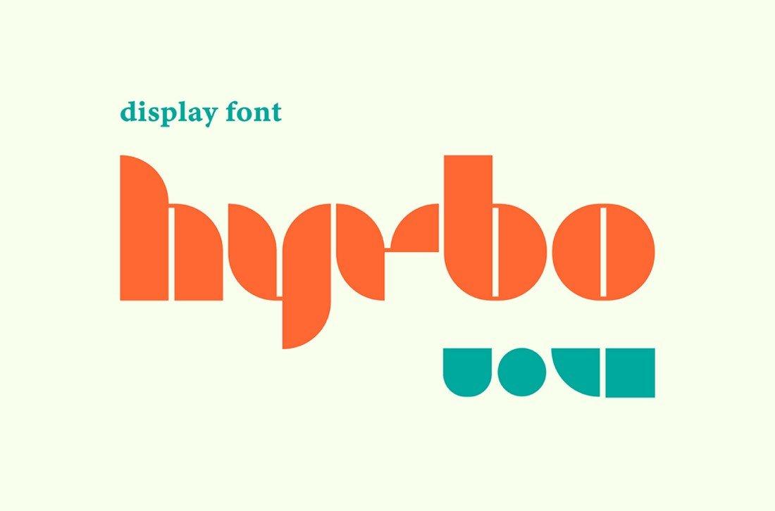 Hybro - Free Bold Font