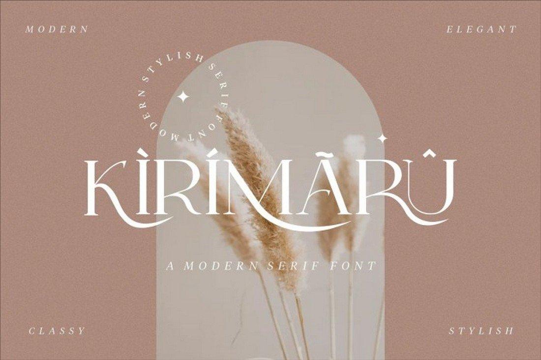 Kirimaru Font - Free Elegant Serif Font
