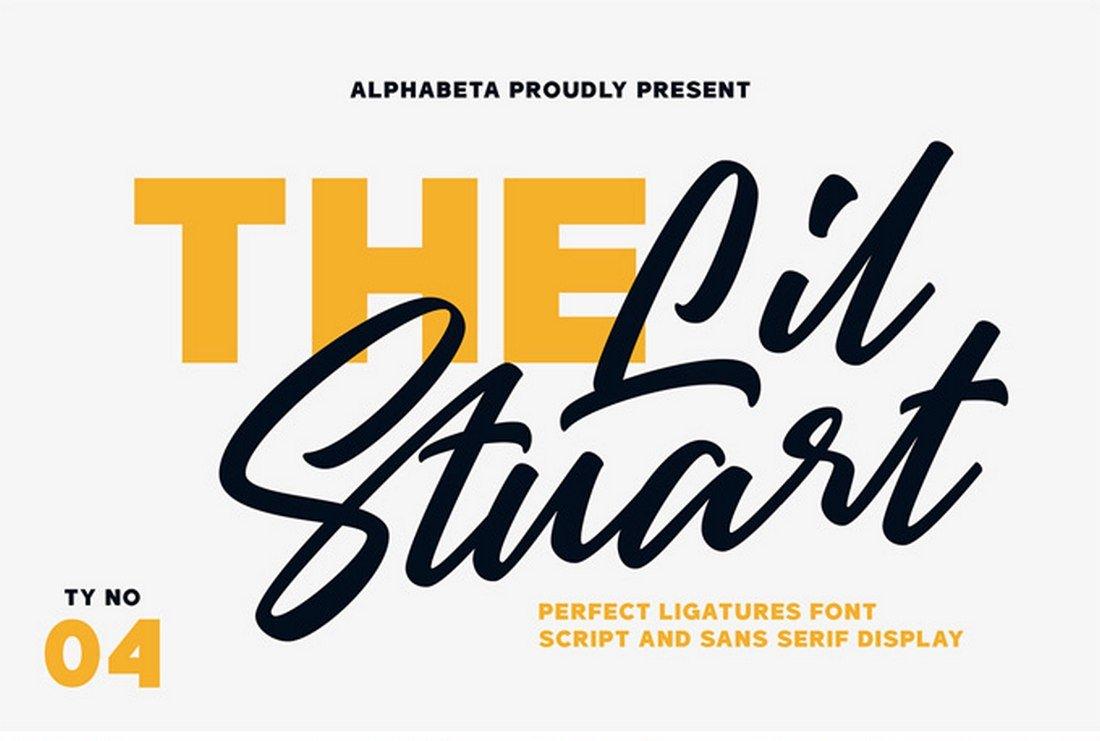 Lil Stuart - Free Creative Fonts Collection