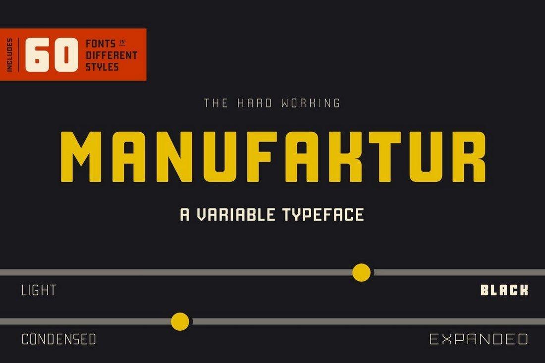 Manufaktur - Font Family