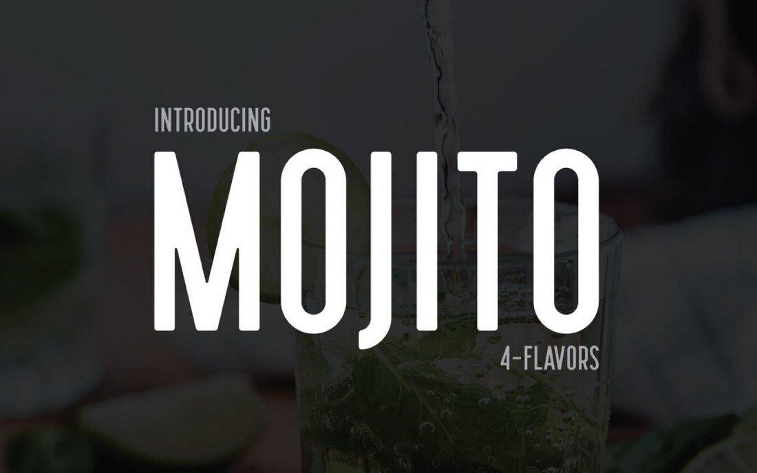 Mojito - Free Semi-Condensed Font