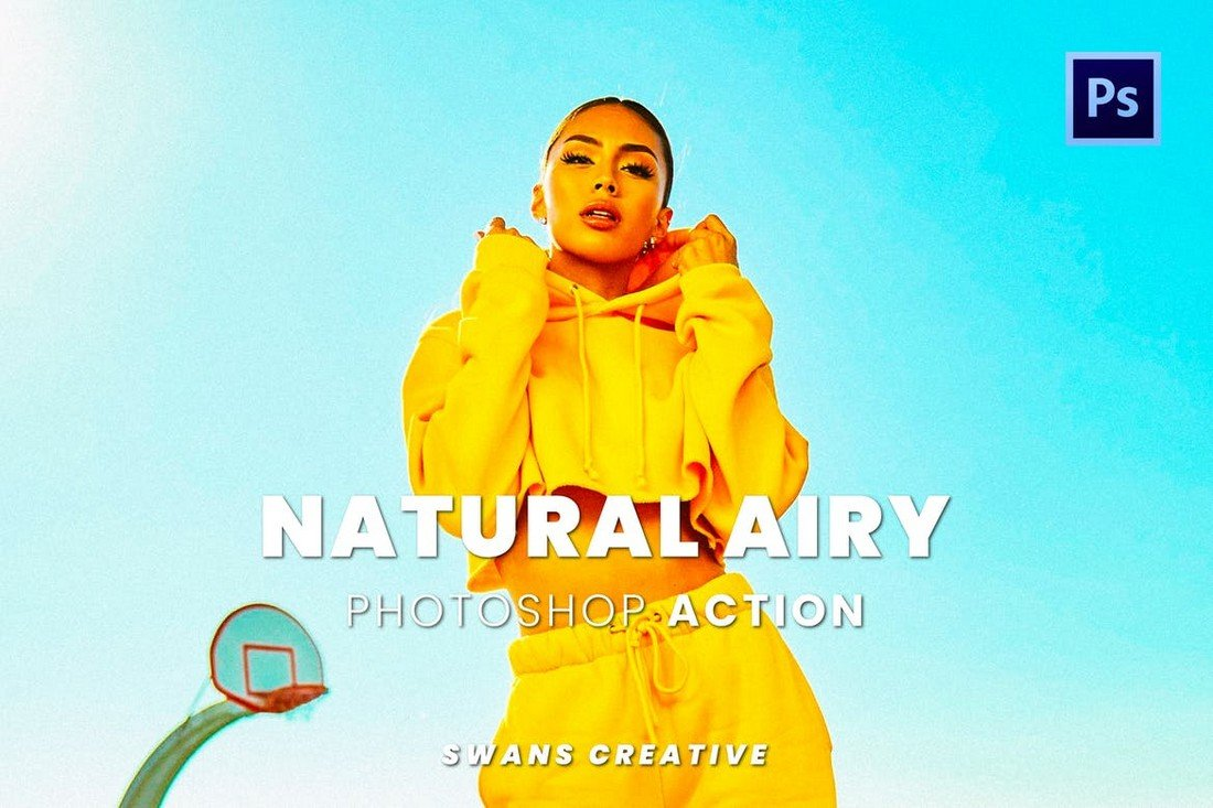 Natural Airy Effect Photoshop Action