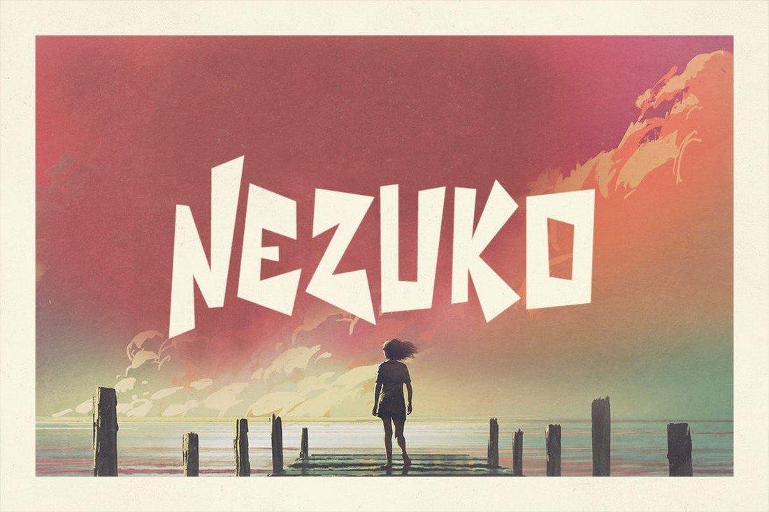 Nezuko - Creative Bold Typeface
