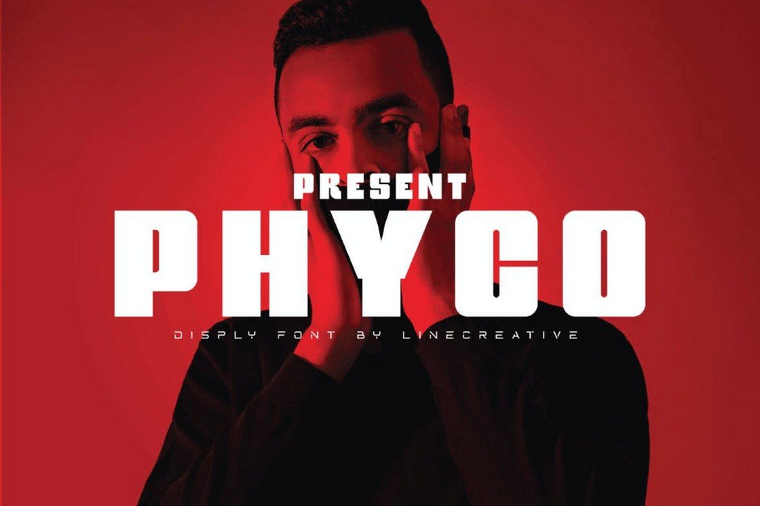 Phyco - Modern Bold Font