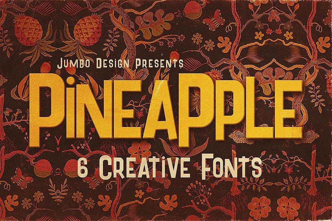 Pineapple - Spongebob-Style Cartoon Font
