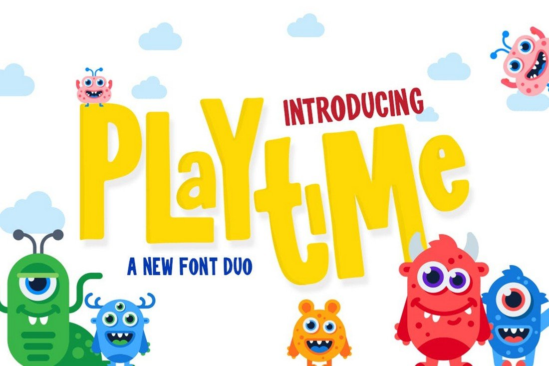 Playtime - Cartoon Font Duo