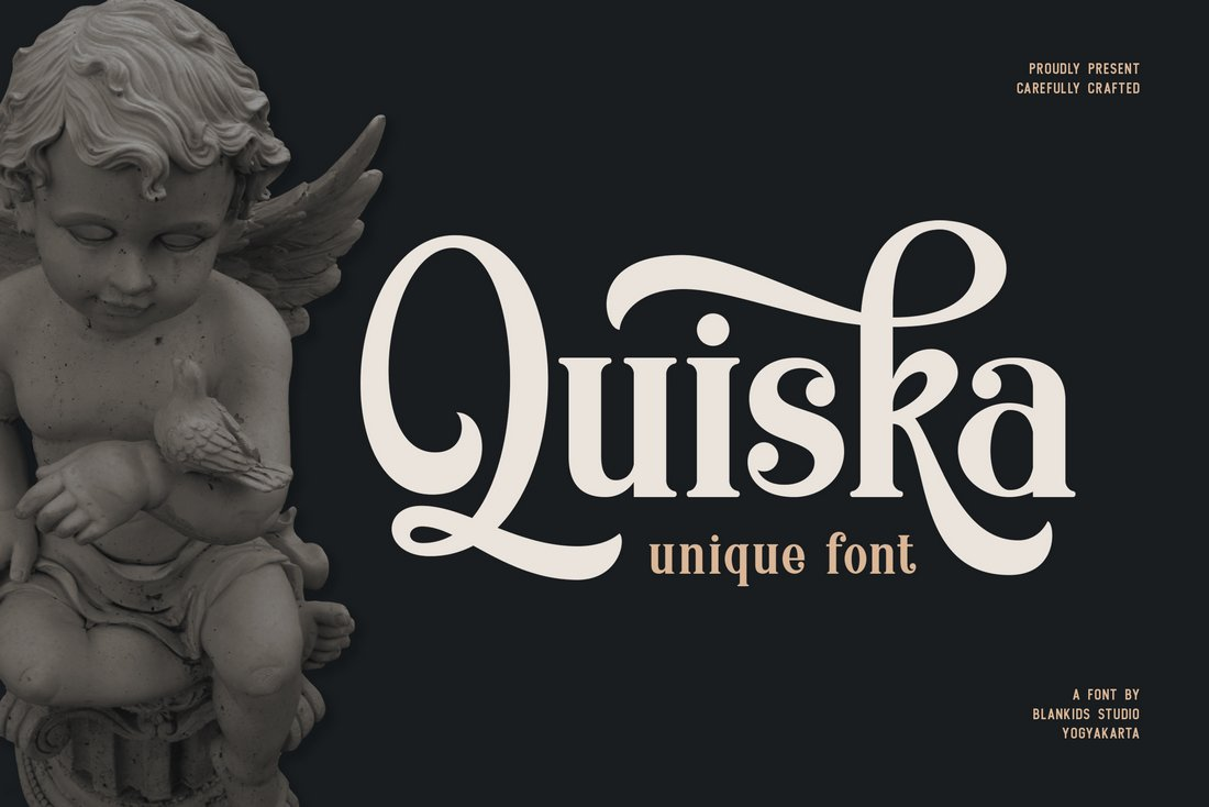 Quiska - Free Blackletter Font
