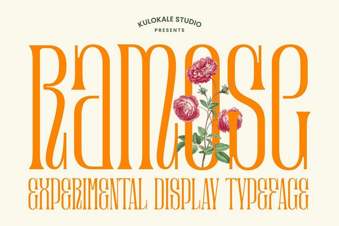 Ramose - Experimental Classic Narrow Serif Font