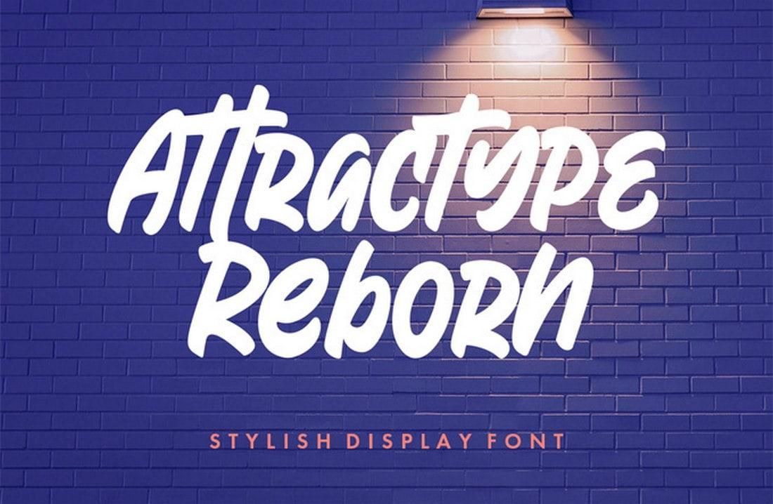 Reborn - Free Stylish Display Font