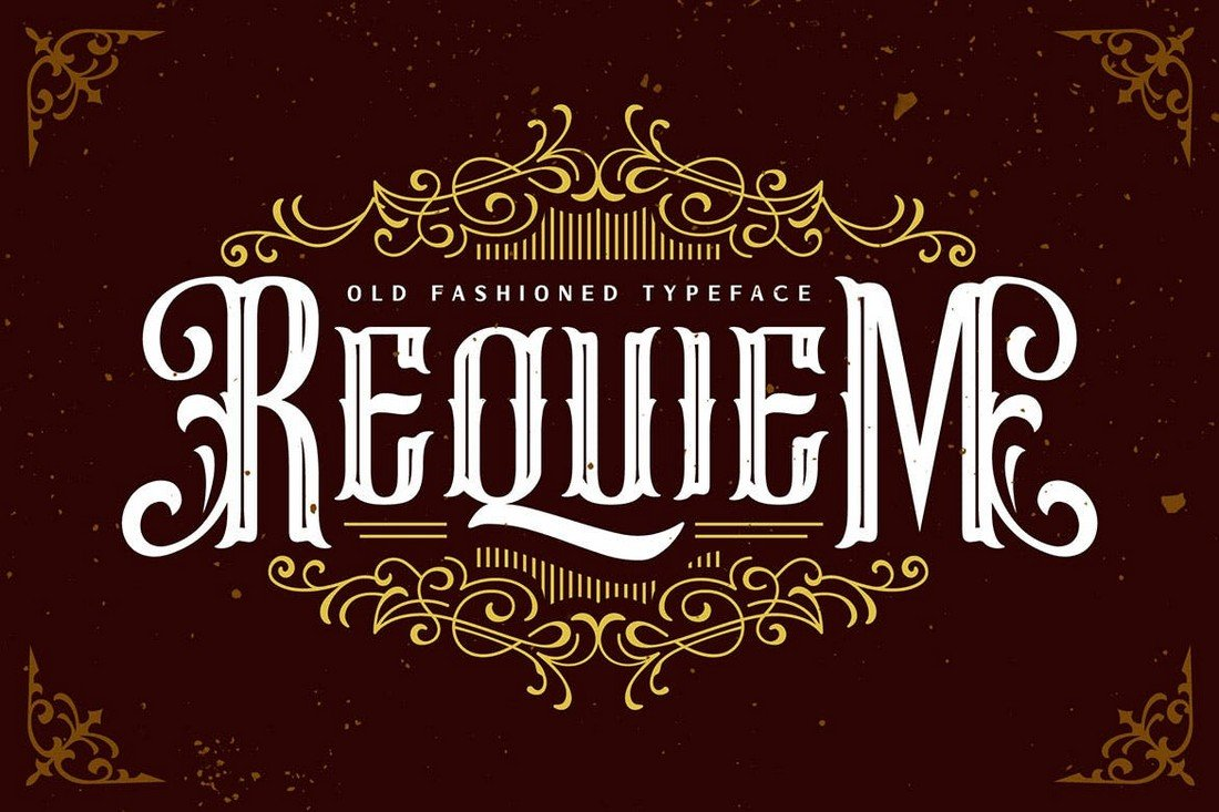 Requiem - Vintage Blackletter Gothic Font