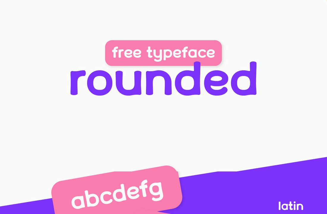 Rounded - Free Modern Rounded Font