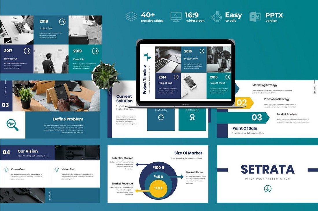 Setrata - Pitch Deck Powerpoint Presentation