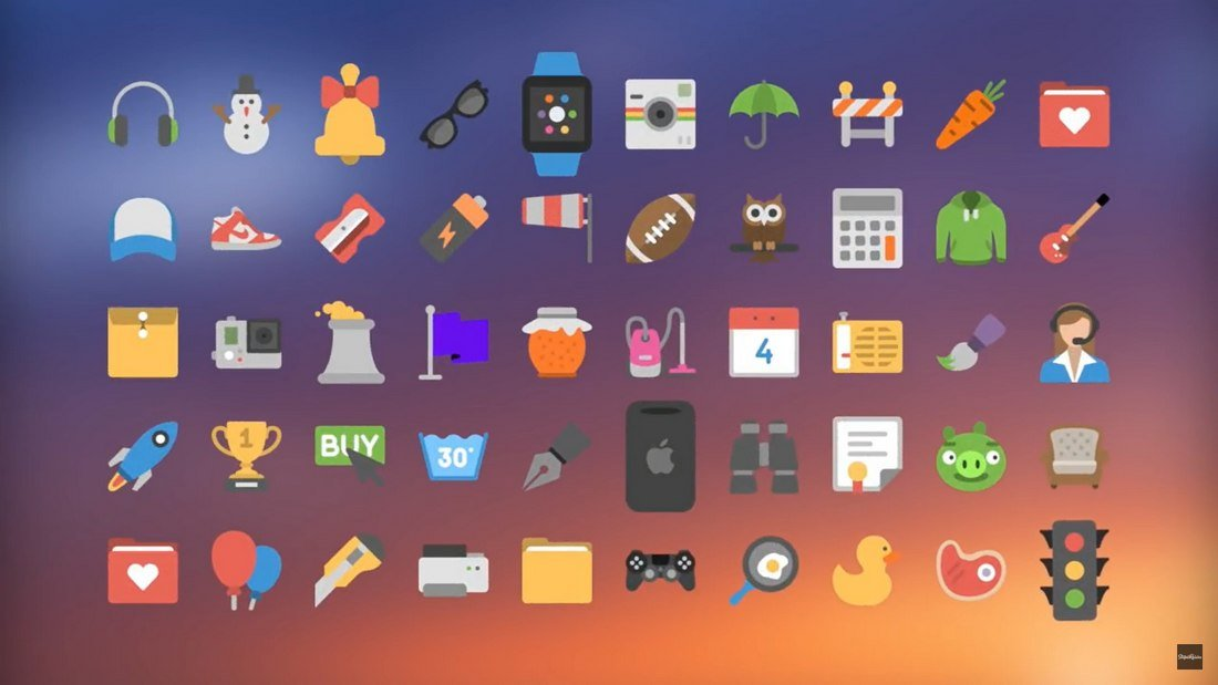 Sign Pop - 50 Free Animated Icons for FCP
