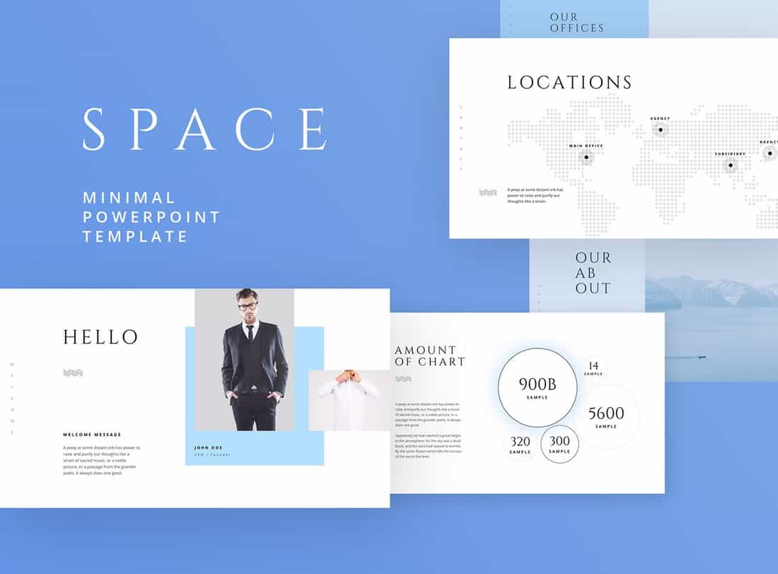 Space - Free Powerpoint & Keynote Template