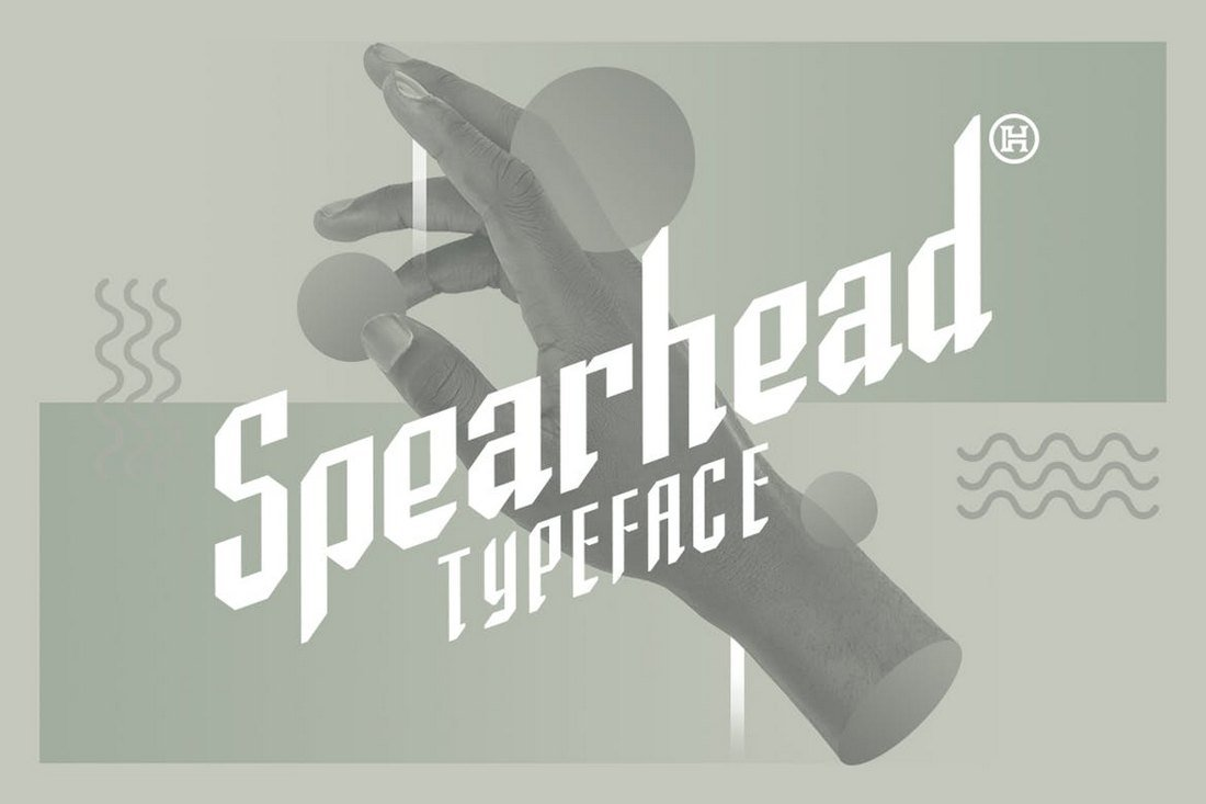 Spearhead Vintage Gothic Typeface
