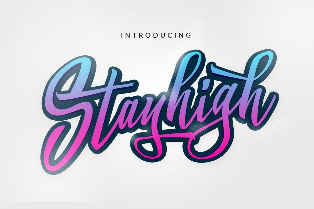 Stay High Display Font