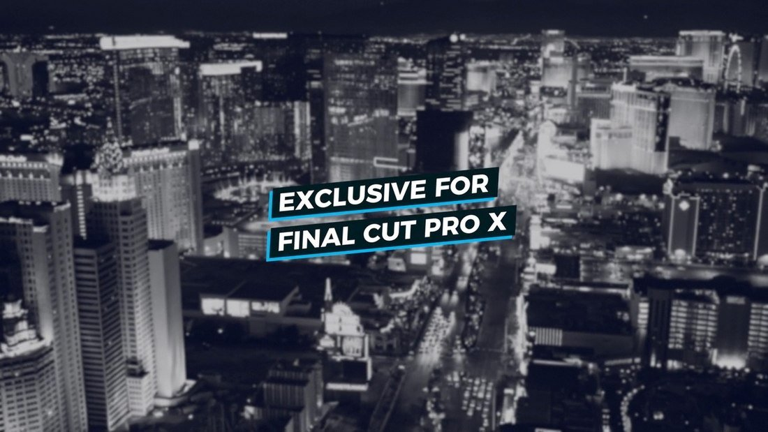 Super Starter Kit - Free Final Cut Pro Templates