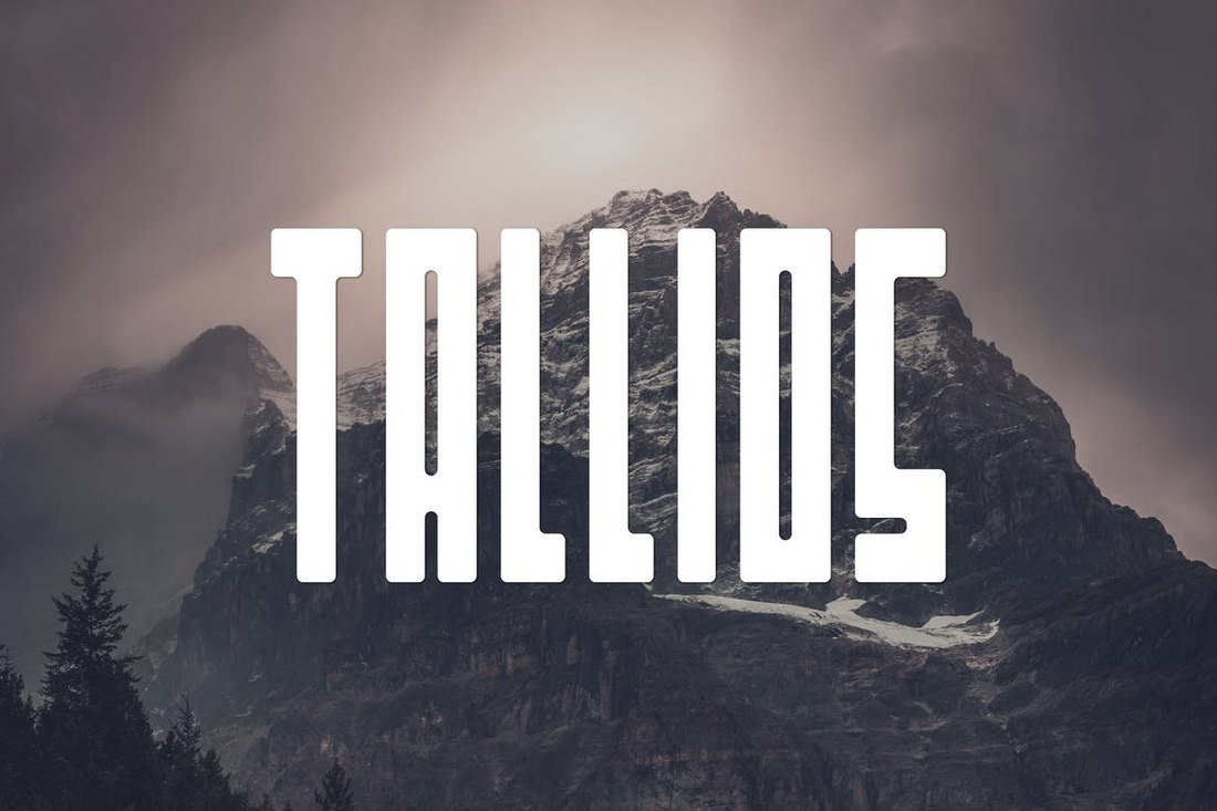 Tallios - Narrow Font