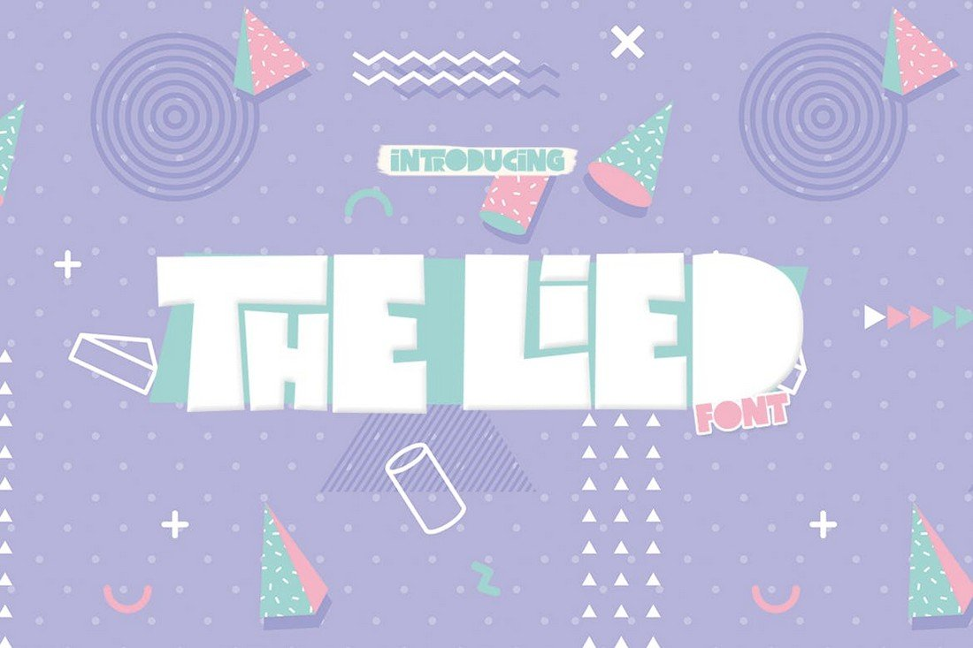 The Lied - Quirky Thick Font