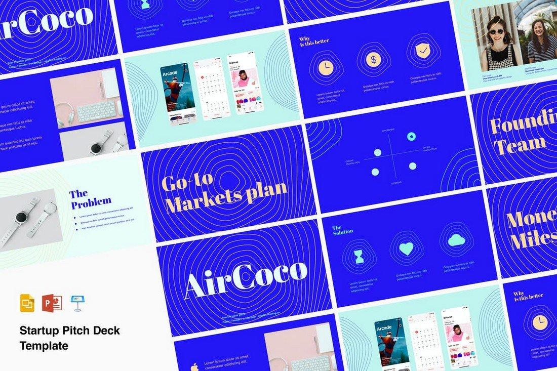 Venture - Pitch Deck Keynote & PowerPoint Template