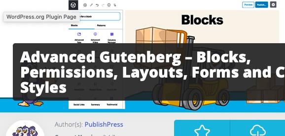 Advanced Gutenberg.