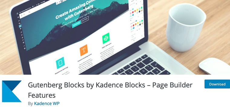 Kadence Blocks.
