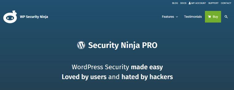 WordPress plugin Security Ninja.