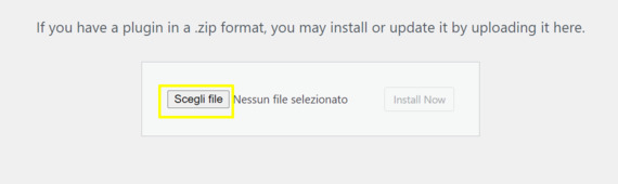 Select the zip file.
