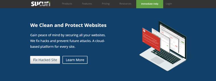 WordPress plugin Sucuri.